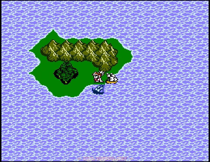 船を島に横付けして難破船の中へ