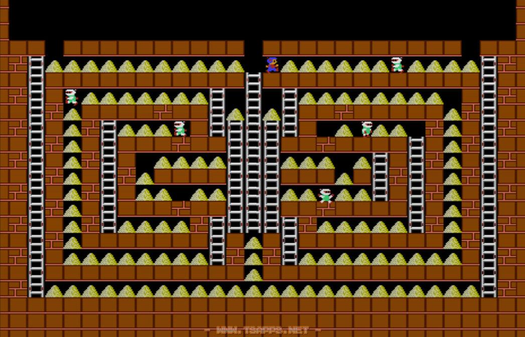 ステージ22全体図。ほとんどが金塊で埋め尽くされています。
