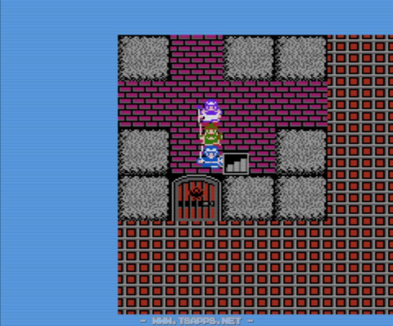 満月の塔5階。ぎんのカギで扉を開けて4階へ。