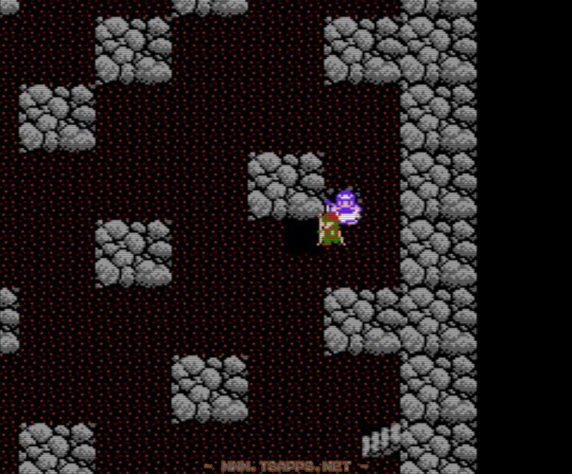 5階に着いたら左下の落とし穴で落下!
