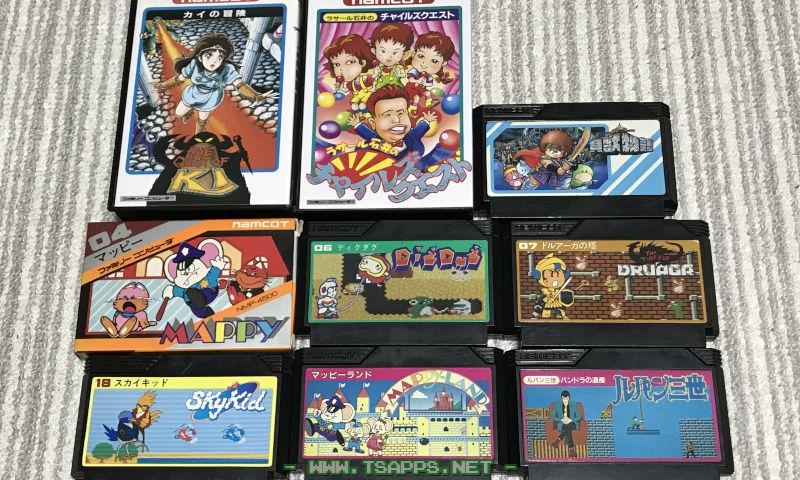 ナムコのゲーム!マッピーは4本目に購入したゲーム