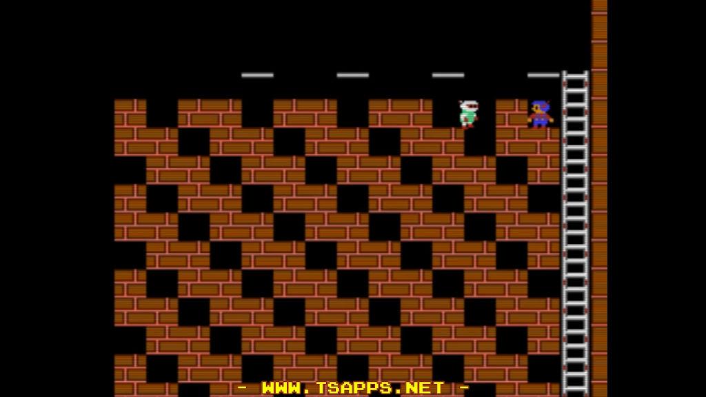 1体目のロボットは上まで誘導して穴に落とす