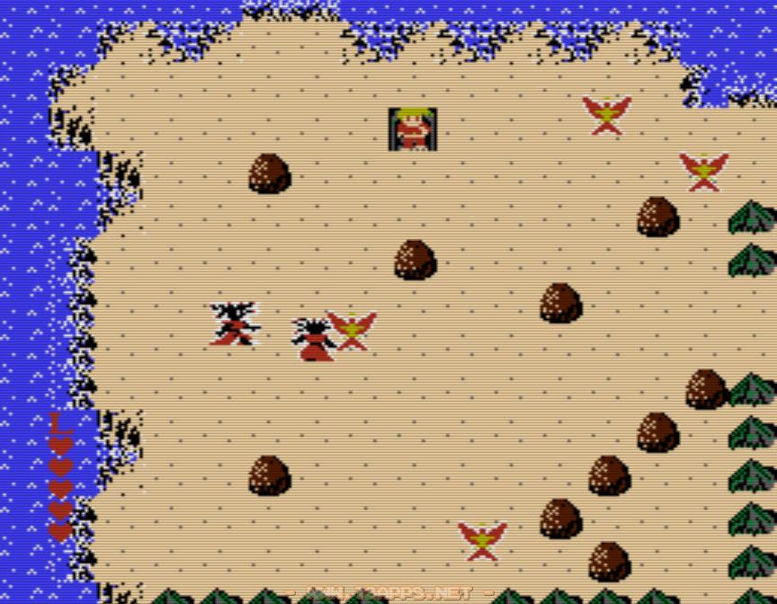 洞窟を抜けるとそこは砂漠地帯