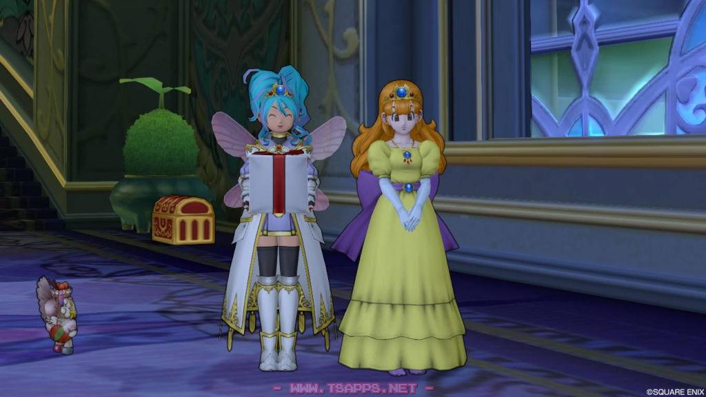 パルフィとローラ姫