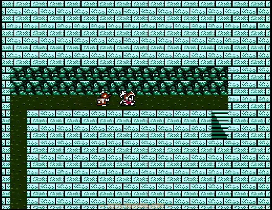 小部屋の宝箱を全て集めたら一番北にある階段から先へ