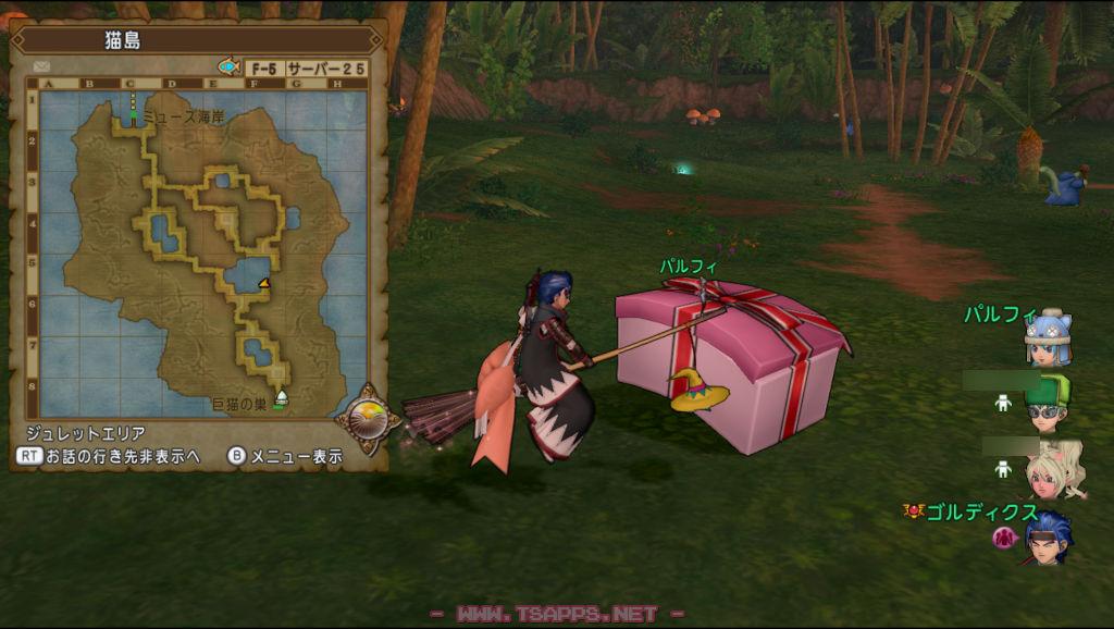 宝の地図1・猫島F-5