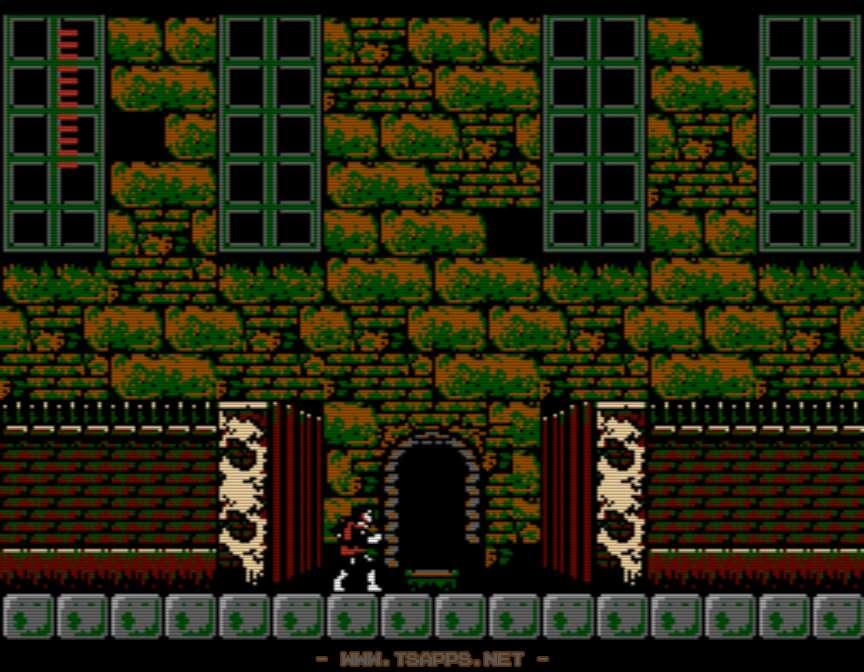 最初の館・バークレイの館入口