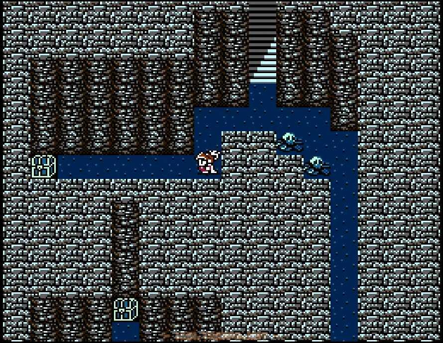 地下3階東側は一本道に宝箱がいくつか