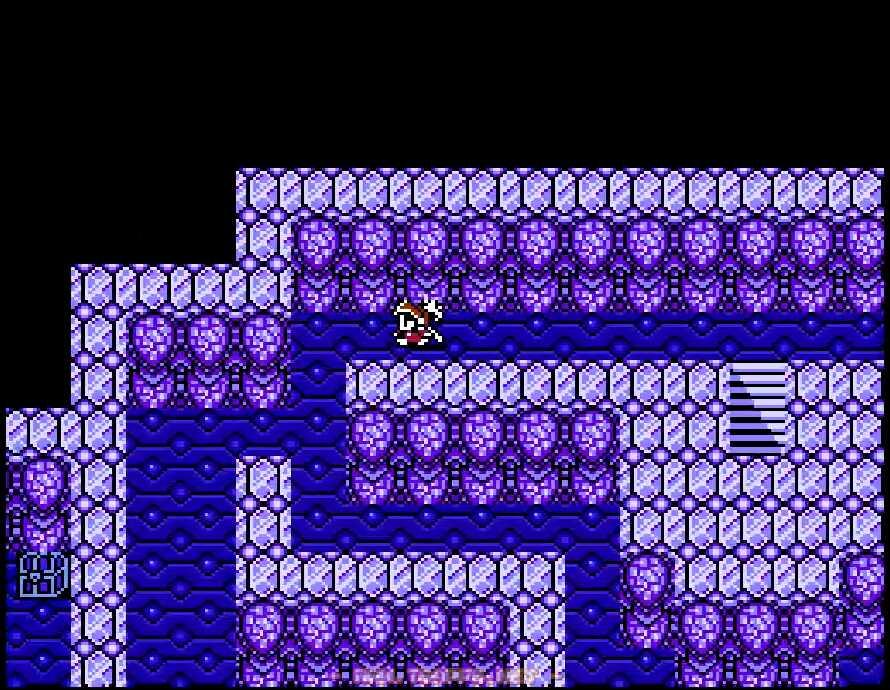 2階ではまず左端の宝箱を目指す