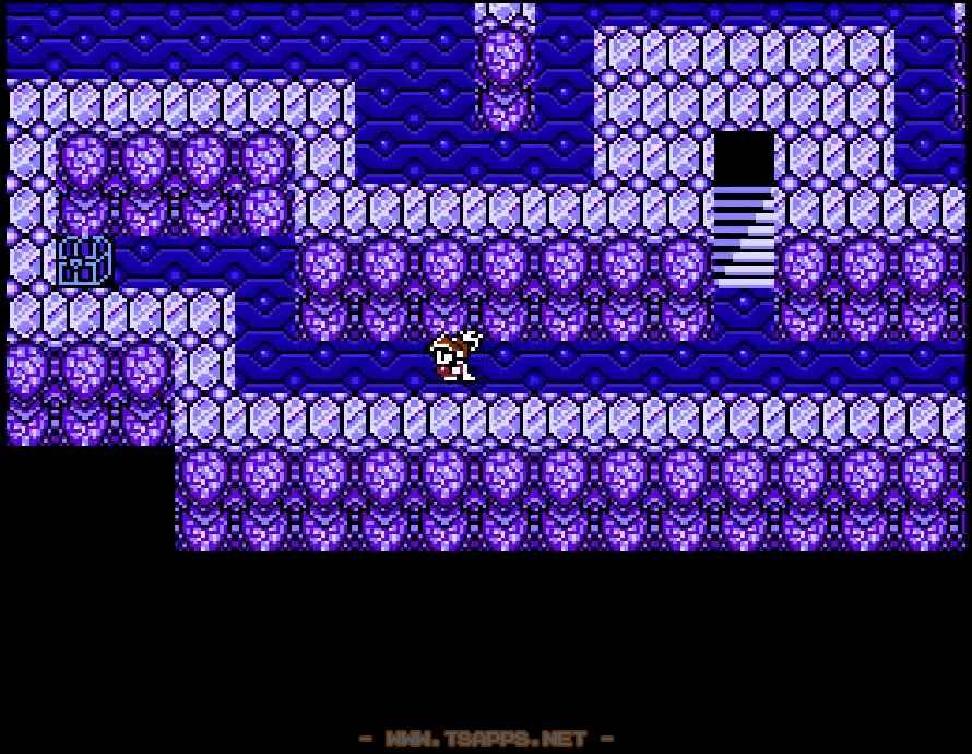階段を上る前に宝箱をゲット