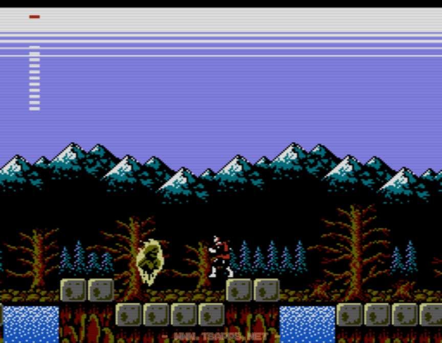館の左側を進むとデボラの崖