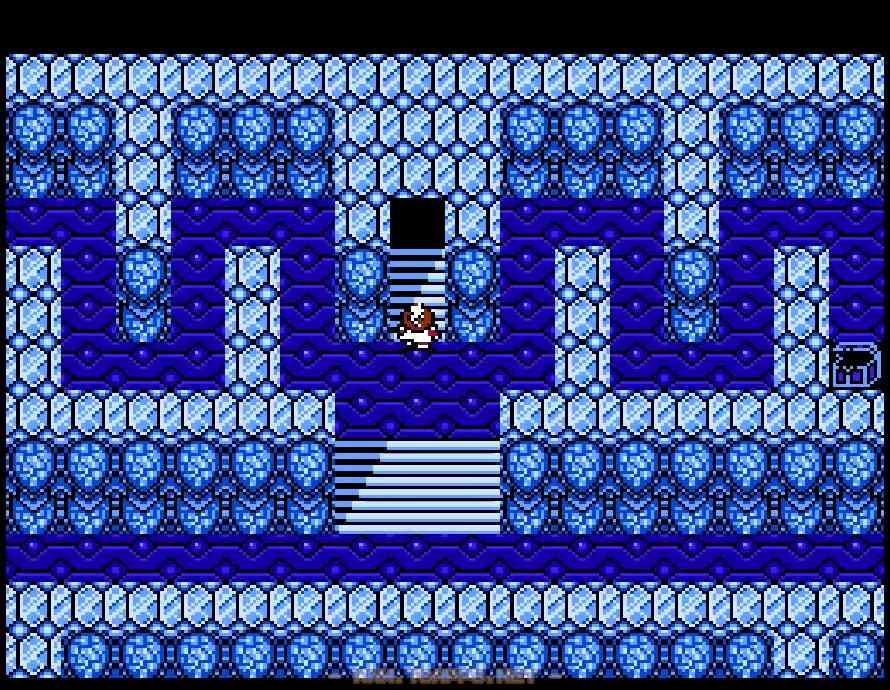 上り階段の両側にも宝箱