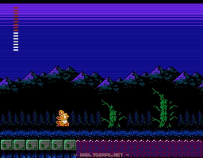 月桂樹を使ってジョマの沼を抜ける