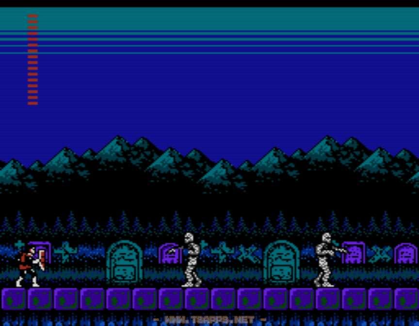 ヴラド墓地では空から襲いかかる敵に注意