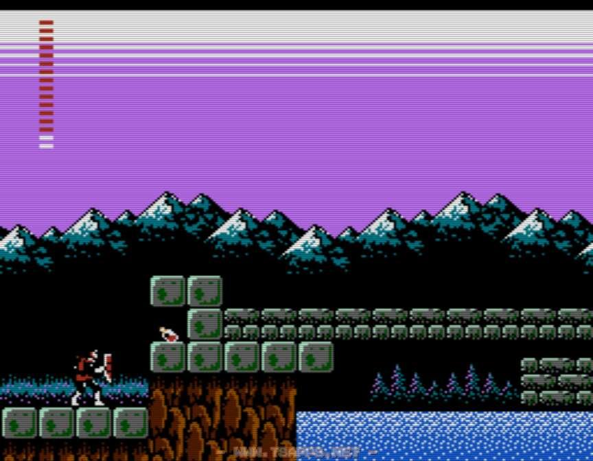 ロザリオがあれば橋の入口を塞ぐブロックを壊せる