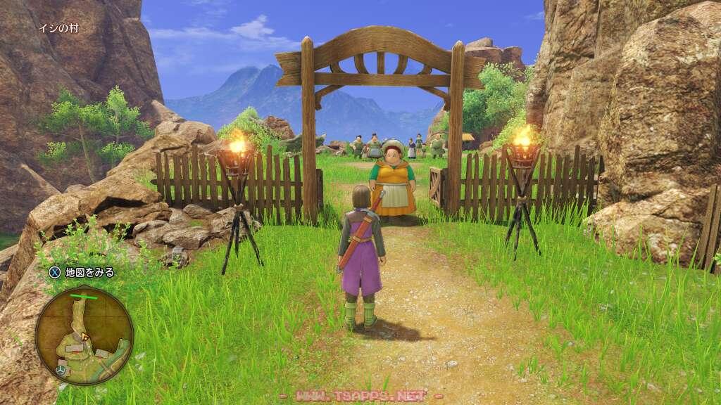 村の出口ではみんなが待っていた