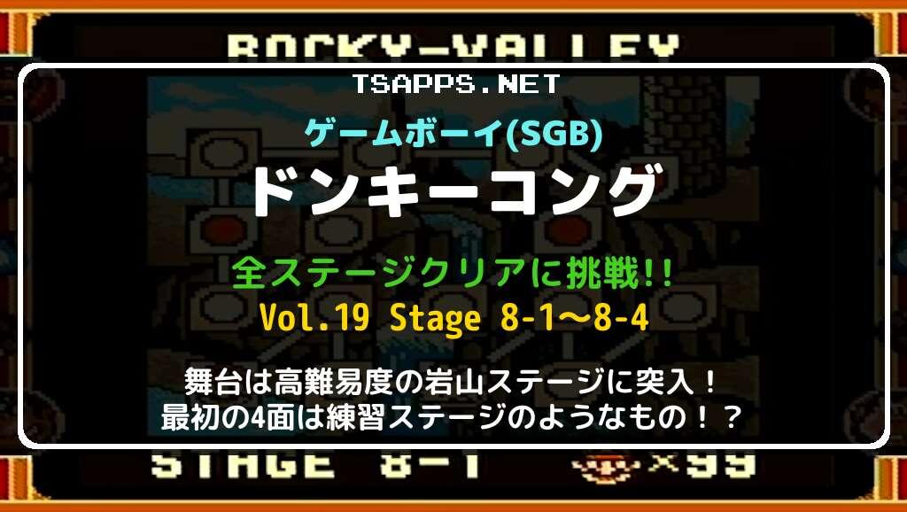 ゲームボーイ版ドンキーコング 全面攻略 Vol.19
