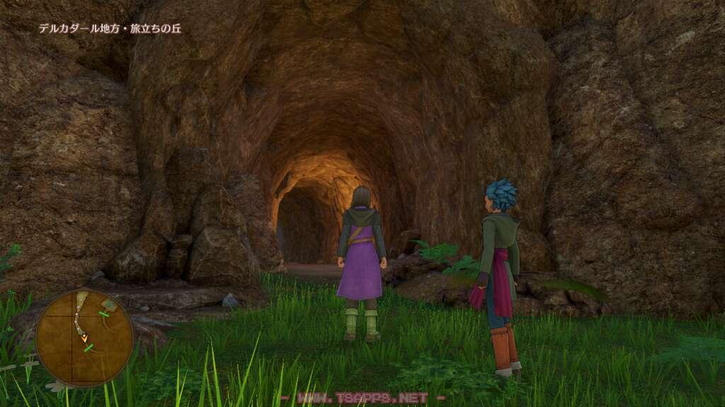 久々に戻ってきたイシの村の入口