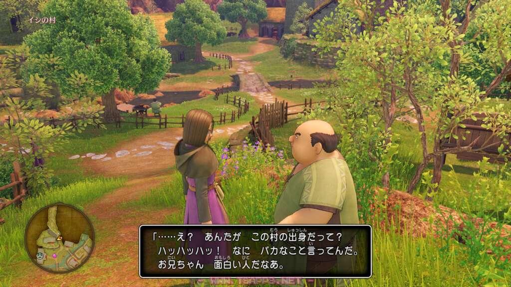 イシの村に入ると見慣れた光景が。しかし…