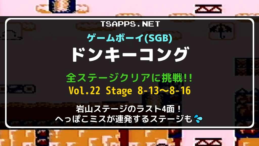 ゲームボーイ版ドンキーコング 全面攻略 Vol.22