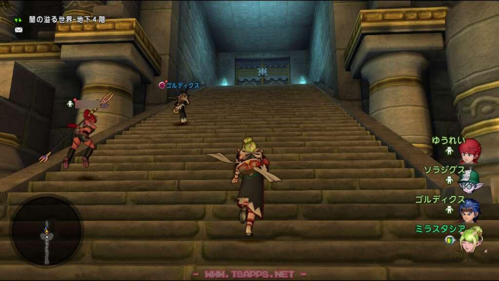 階段を上がって地下5階へ