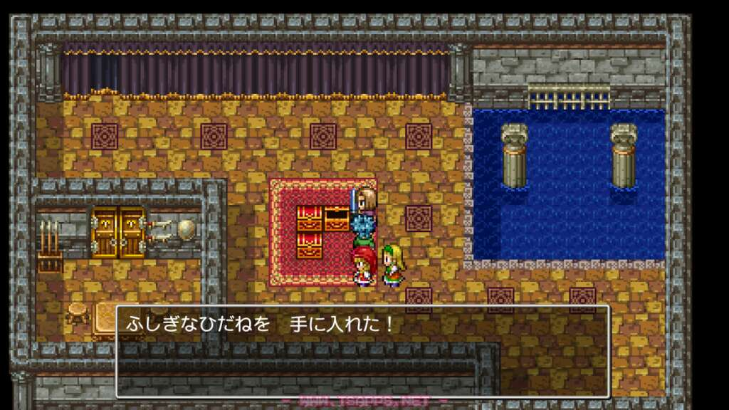 建物の中には宝箱が3つ