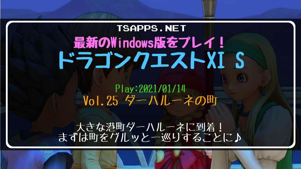 Windows版ドラクエ11S プレイ日記 Vol.25