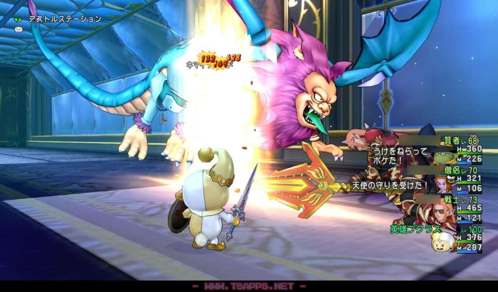 魔法の迷宮の要領でフロアのモンスターを全滅させます