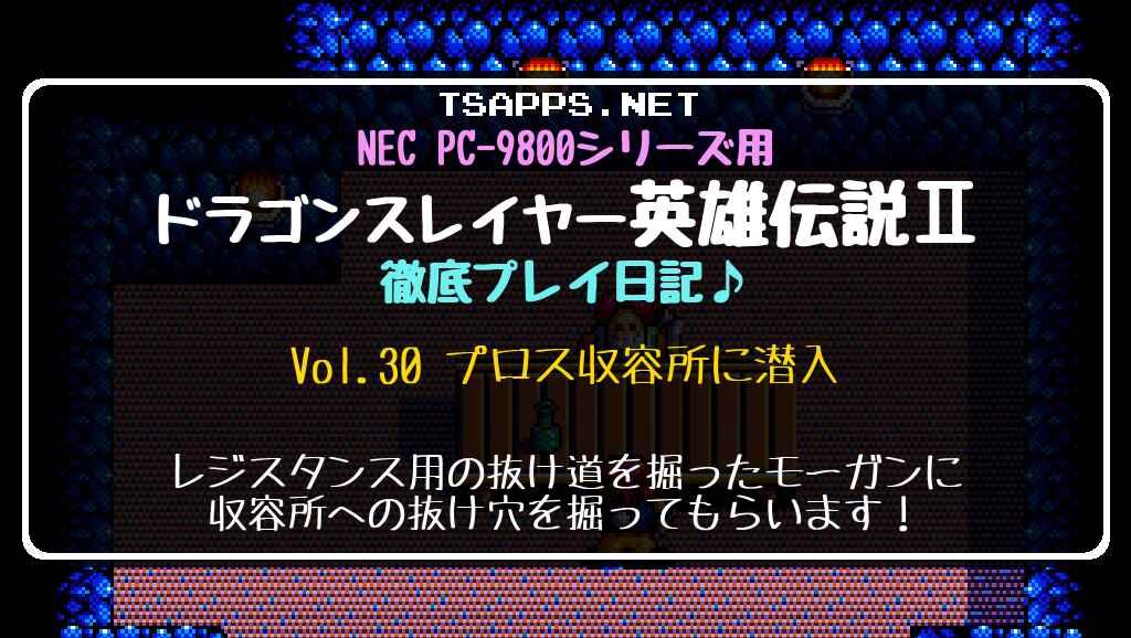 ドラゴンスレイヤー英雄伝説2 徹底プレイ日記 Vol.30