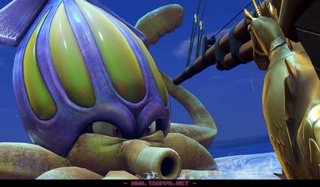 巨大なクラーゴンが行く手を阻む!