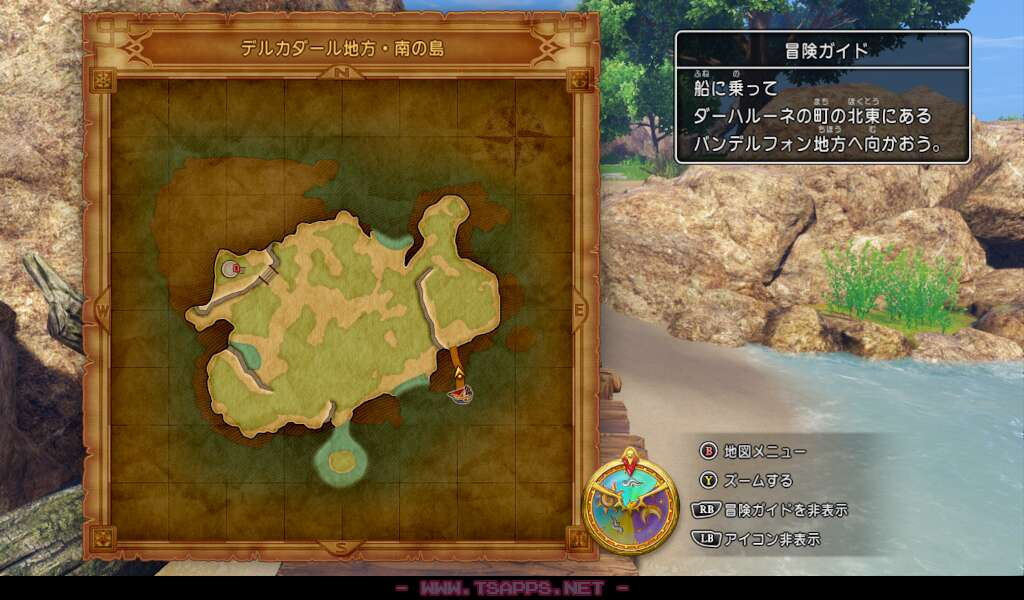 この島には何があるのか歩いてみましょう