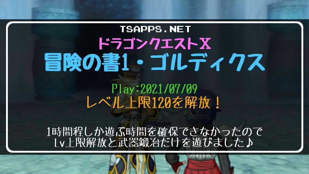 ドラクエ10日記・レベル上限120を解放!