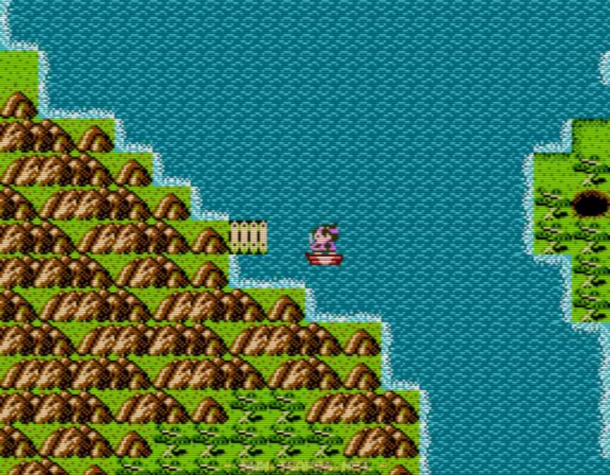 対岸にある島まで渡る事ができます